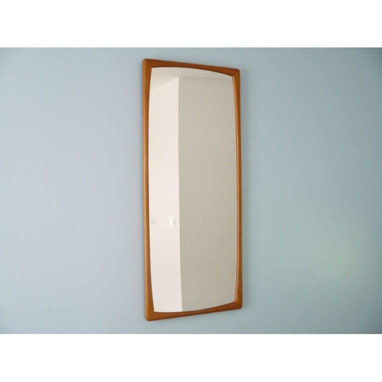 miroir scandinave vintage teck la maison retro