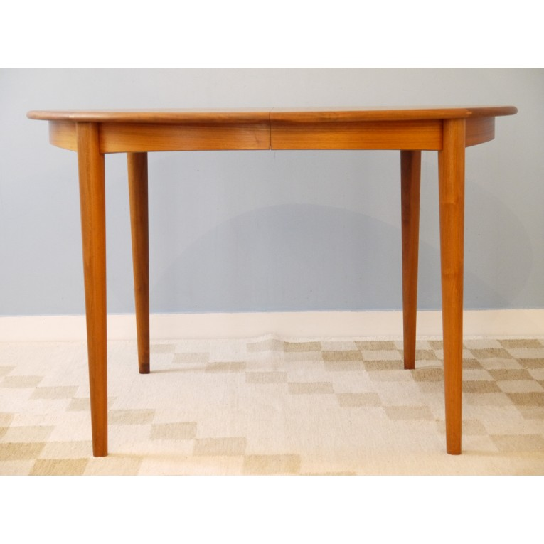 Table repas vintage scandinave la maison retro - Table repas scandinave ...