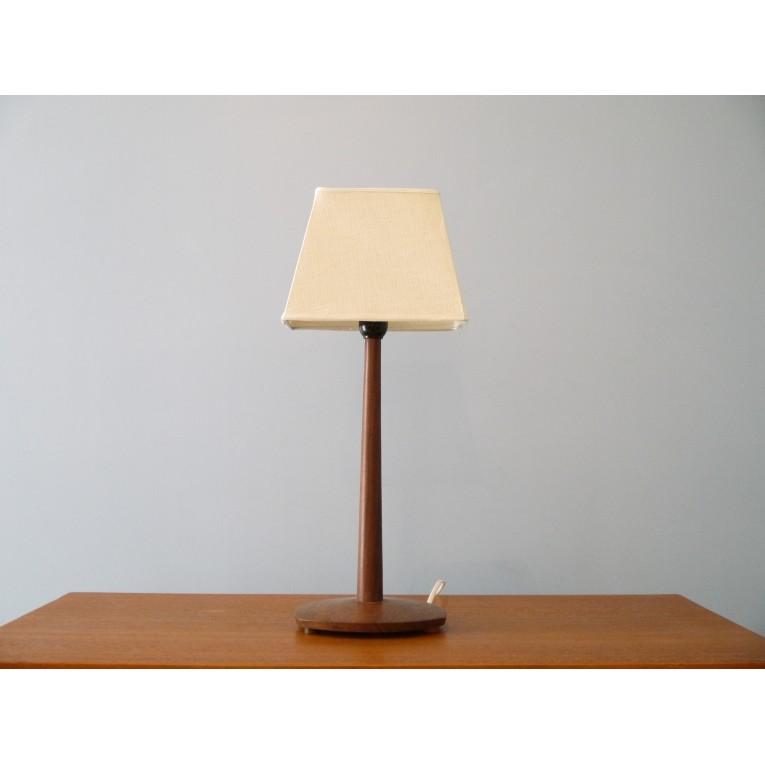 lampe design scandinave 1960 bois palissandre la maison. Black Bedroom Furniture Sets. Home Design Ideas