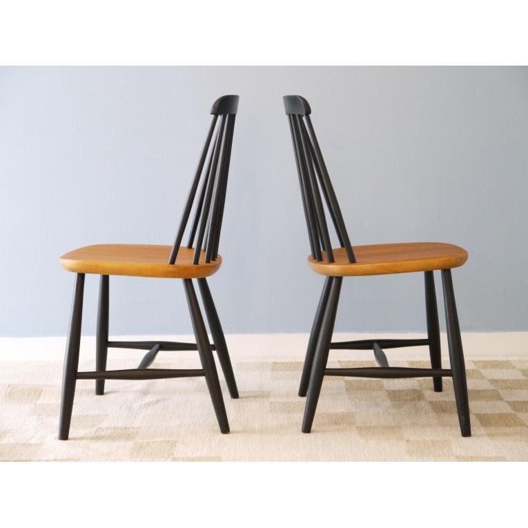 Chaises La Design Scandinave Retro Bois Maison 6Yfb7gy