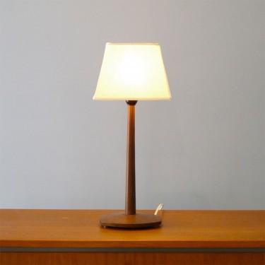 Lampe Design Scandinave 1960 Bois Palissandre La Maison Retro
