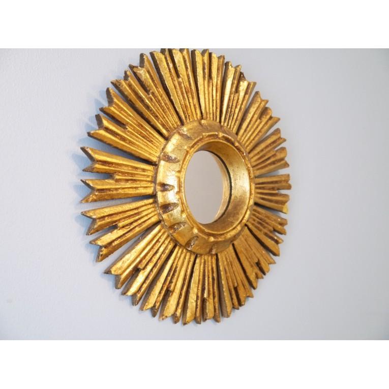 miroir soleil vintage - la maison retro