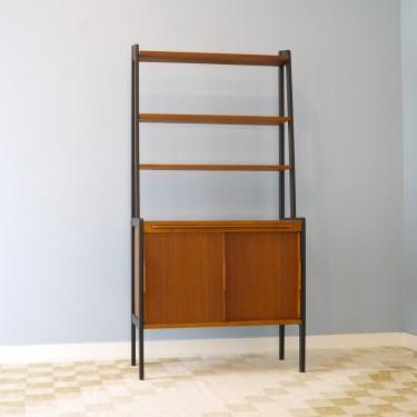 bibliotheque vintage scandinave 1960 la maison retro. Black Bedroom Furniture Sets. Home Design Ideas