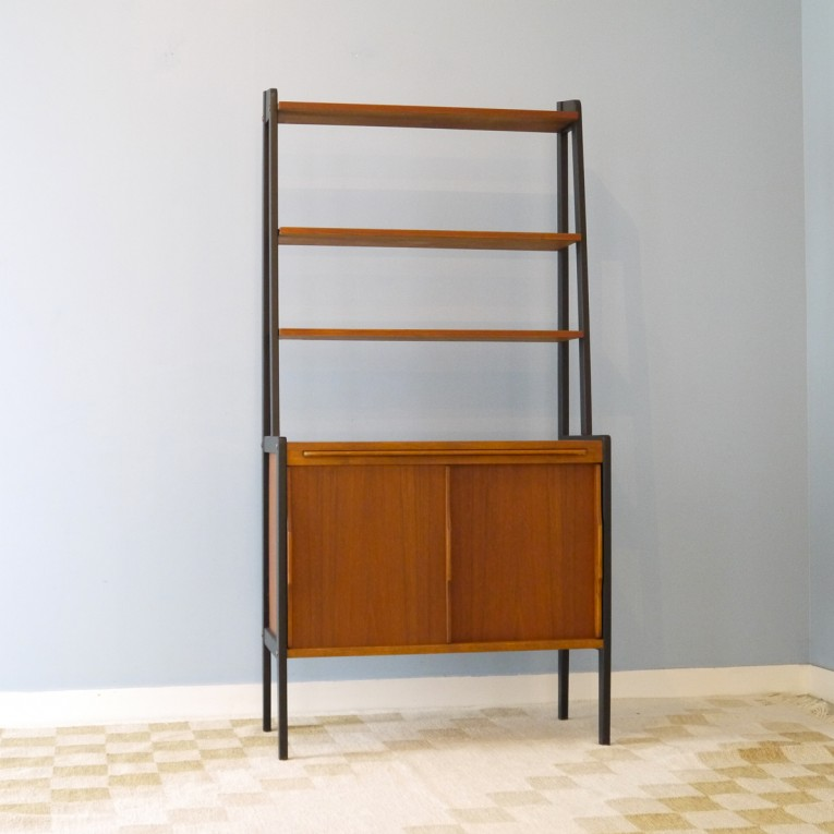 Bibliotheque vintage scandinave 1960 la maison retro for Meuble suedois