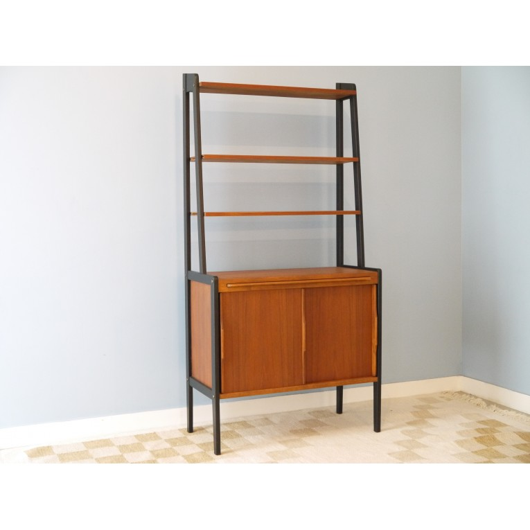 bibliotheque vintage scandinave 1960 la maison retro. Black Bedroom Furniture Sets. Home Design Ideas