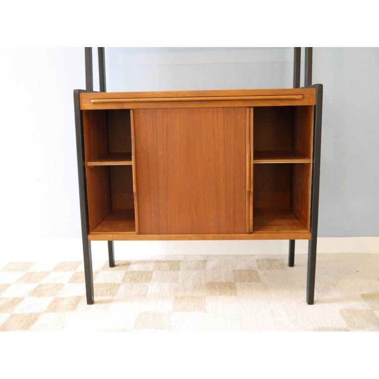 bibliotheque vintage scandinave 1960  la maison retro -> Meuble Vintage Suedois