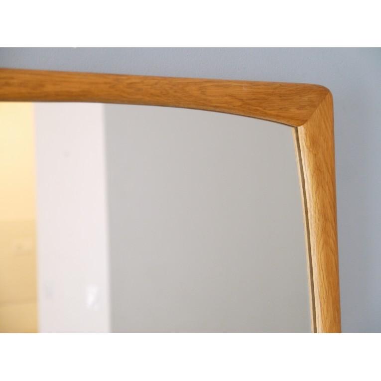 miroir scandinave vintage bois la maison retro. Black Bedroom Furniture Sets. Home Design Ideas