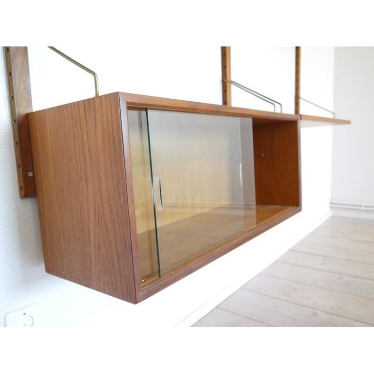 systeme etageres meubles scandinave la maison retro. Black Bedroom Furniture Sets. Home Design Ideas