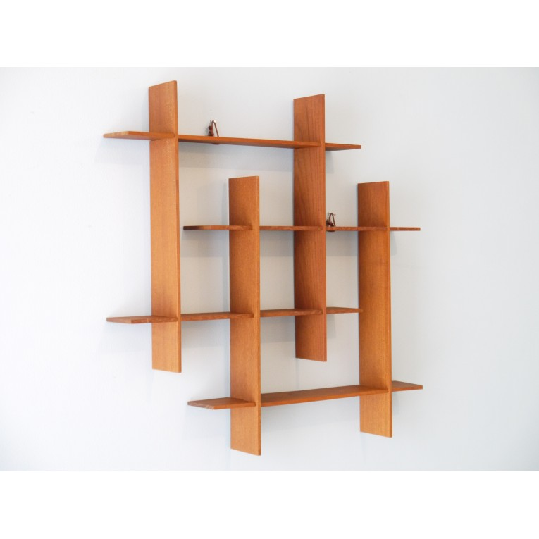 etagere scandinave murale la maison retro. Black Bedroom Furniture Sets. Home Design Ideas