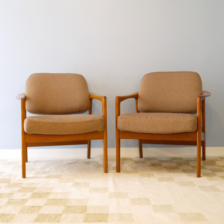 fauteuils design scandinave vintage la maison retro. Black Bedroom Furniture Sets. Home Design Ideas