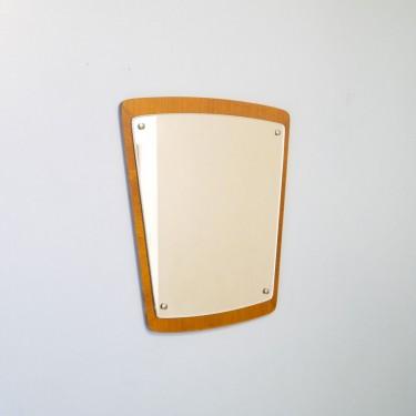 Table basse scandinave teck et metal