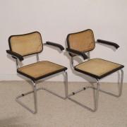 Chaises vintage bahaus Cesca Breuer