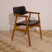 Fauteuil de bureau vintage danois design Erik Kirkegaard