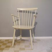 Petit fauteuil vintage danois Farstrup