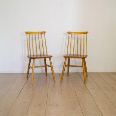 Paire de chaises style fanett