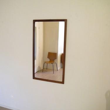 grand miroir en palissandre