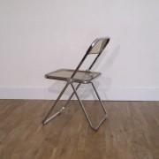 """Chaise vintage """"Plia"""" Giancarlo Piretti"""