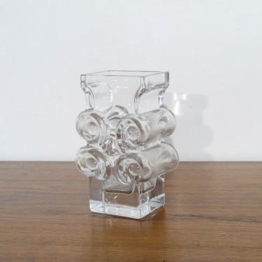 Vase vintage de Lars Helsten pour Skruf