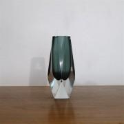 Vase vintage sommerso de Flavio Poli pour Murano