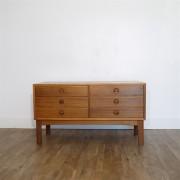 meuble d'appoint scandinave en teck 1960