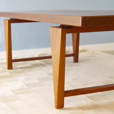 Table basse vintage scandinave Illum Wikkelso
